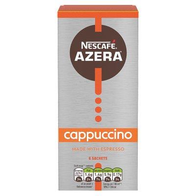 Nescafe Azera Latte Sachets x6 / Nescafe Azera Cappuccino Sachets x6 £1 @ Asda