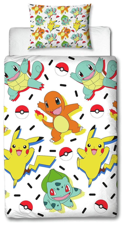 Pokemon Bedding Set - Single £10.99 with Free click & collect @ Argos
