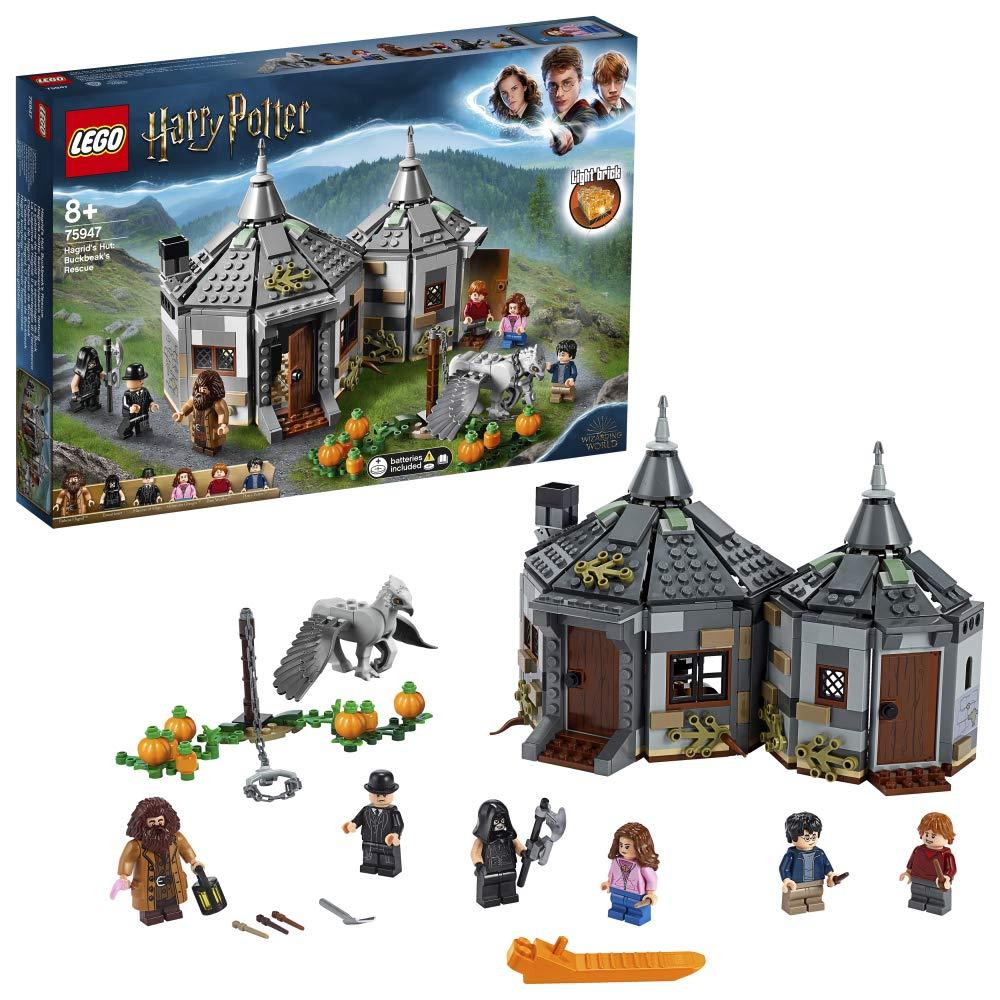 LEGO 75947 Harry Potter Hagrid's Hut: Buckbeak's Rescue Playset  £39.99 @ Amazon