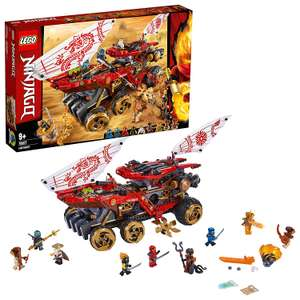 LEGO 70677 NINJAGO Land Bounty £79 Amazon