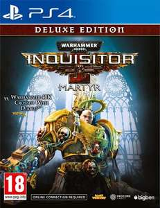 Warhammer 40,000: Inquisitor - Martyr - Deluxe Edition [PS4] for £14.99 Delivered @ CoolShop