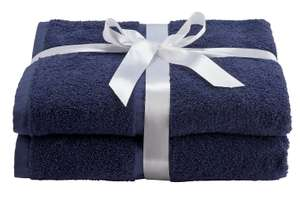 Pair of Bath Towels  450gsm  -10 Colours to choose from - £6.00 free Click & Collect @ Argos