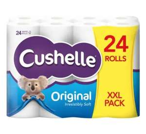 XXL Pack Cushelle Toilet Tissue 24 Roll White for £6.99 Lidl NI