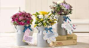 10% off Plus Free Delivery with All Orders over £50 with voucher code @ Flowercard