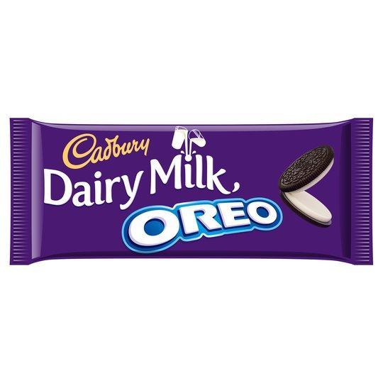 Cadbury Dairy Milk - Oreo 120g Bar, Milk or Mint. 69p @ Heron Foods