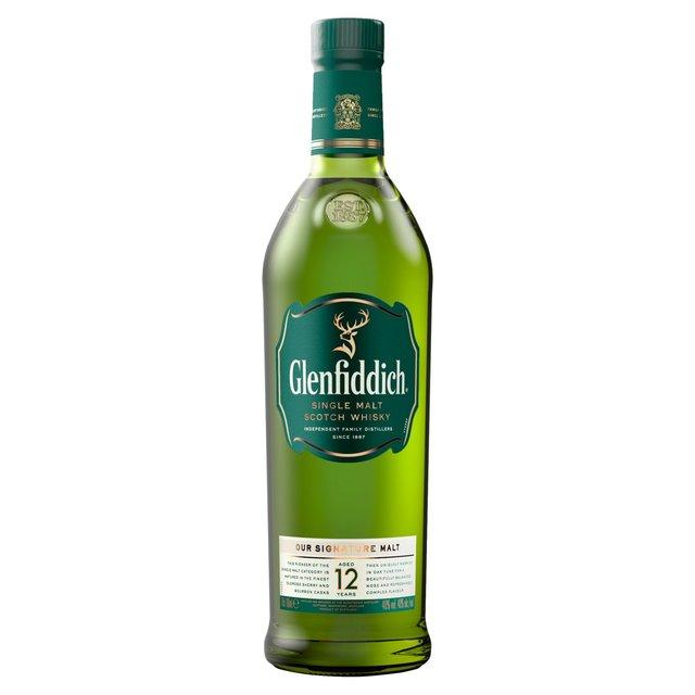 Glenfiddich 12 Year Old Single Malt Scotch Whisky 70cl - £25 @ Morrisons
