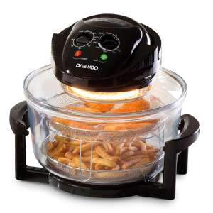 Daewoo 17L Halogen Air Fryer Low Fat Oven + Cooking Tongs, spray bottle & more - £21.66 using code @ Robert Dyas (Free Click & Collect)