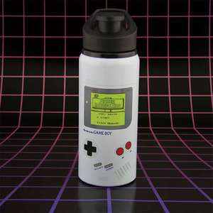 Game Boy Sports Bottle £7.69 delivered @ The gift and gadget store