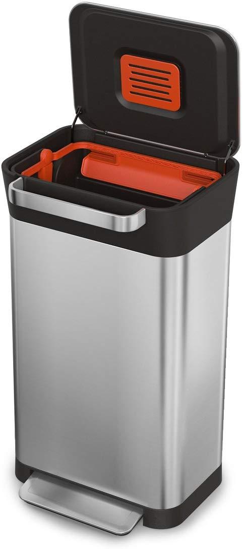Joseph Joseph Titan 30 Trash Compactor Stainless Steel Kitchen Bin £107.09 @ Amazon
