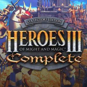 Heroes of Might and Magic® 3: Complete for £2.19 @ GOG