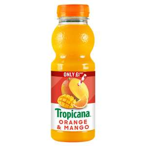 Tropicana Orange & Mango 150ml Juice - 30p instore @ Heron Foods