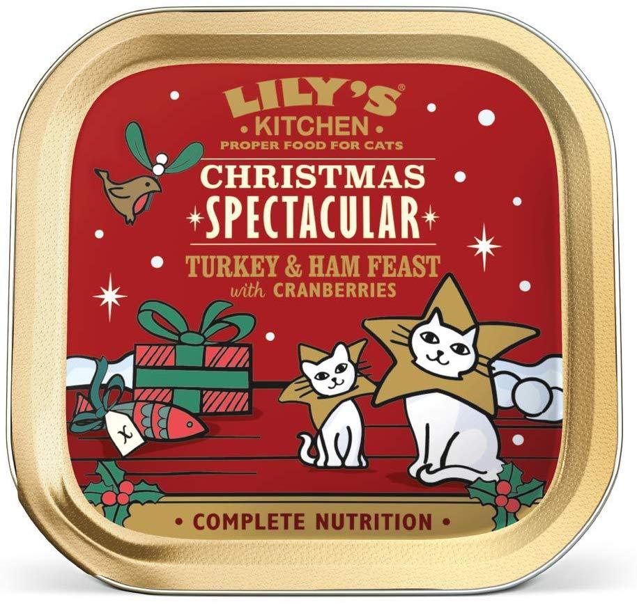 19 x 85grams Lily's Kitchen Christmas Turkey Feast Cat Wet Food Tray - £3.49 add-on item @ Amazon