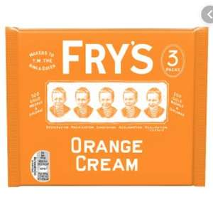 Frys 3 pack - either Orange, Mint or Plain Fondant instore @ B&M