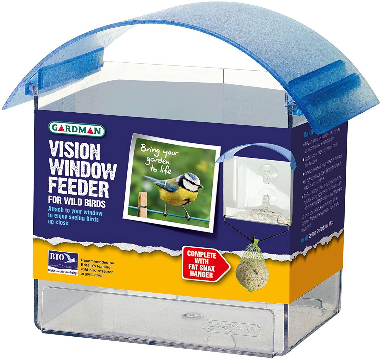 Gardman All New Vision Window Bird Feeder now £3 add-on item at Amazon
