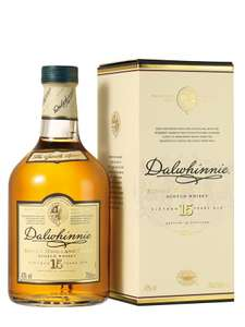 DALWHINNIE 15 year old malt whisky 70CL and other £20.90 @ Tesco instore (Newport)