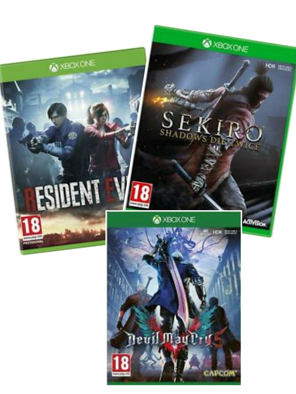 [Xbox One] Sekiro: Shadows Die Twice £23.99 / Resident Evil 2 Remake £17.99 / DMC 5 £14.99 (ex rental) delivered @ boomerangrentals ebay