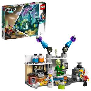LEGO 70418 Hidden Side J.B.'s Ghost Lab Set, Interactive Augmented Reality Playset for iPhone/Android £10 Prime + £4.49 Non Pime @ Amazon