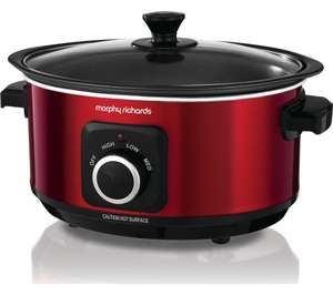 Morphy Richards Evoke Sear & Stew 460014 Slow Cooker - Red £23 at Currys PC World