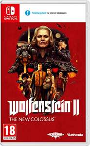 Wolfenstein 2: The New Colossus (Nintendo Switch) £24.95 (£23 w/fee free card) Delivered @ Amazon Spain