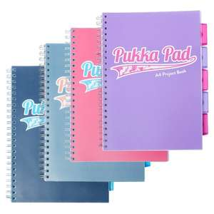 Pukka Pad A4 Project Book - £1.25 Instore @ Tesco (Rugeley)