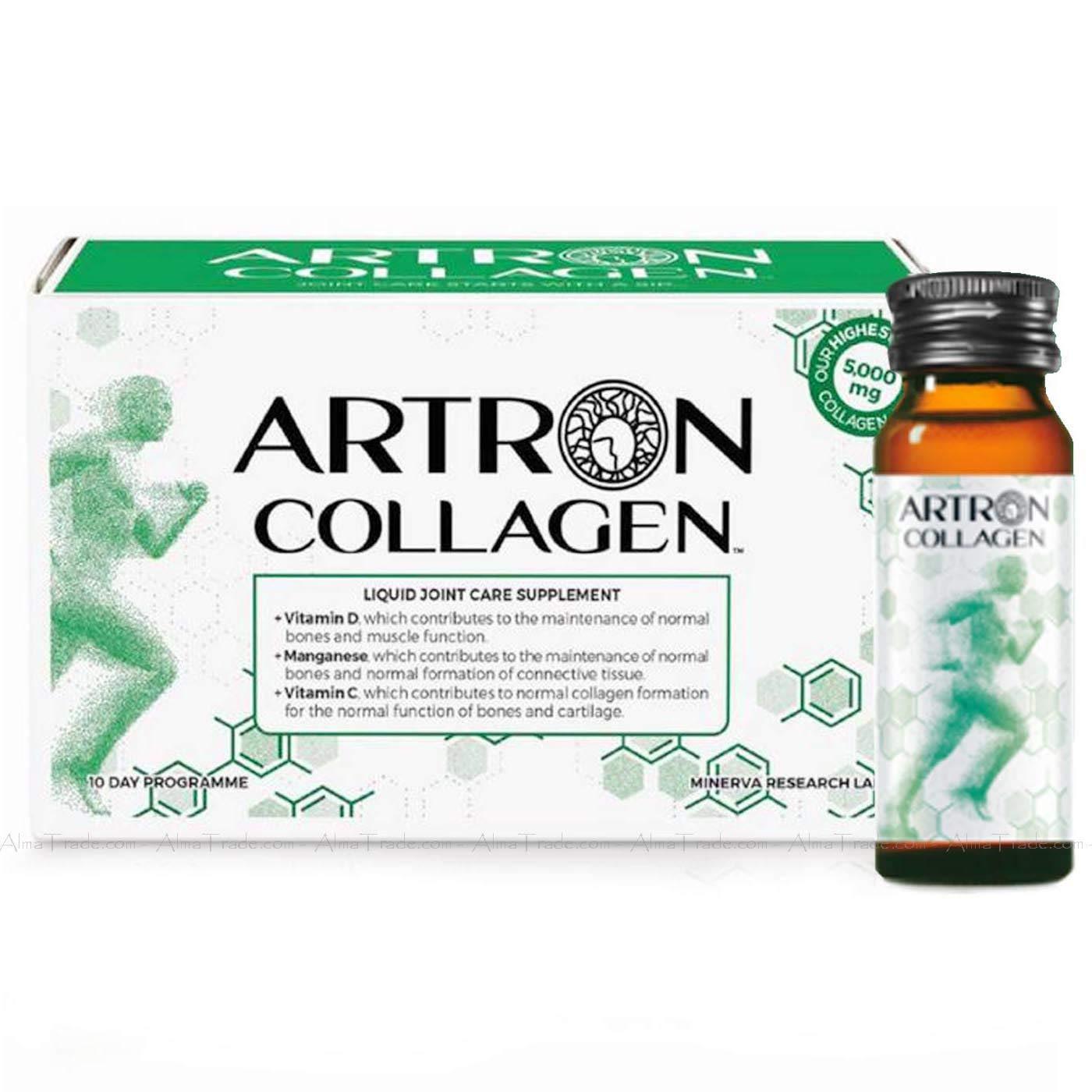Artron Collagen Joint Care Liquid Supplement 10 Day Program Bone Support 10x30ml £15.99 + £4.49 delivery Non Prime @ Amazon