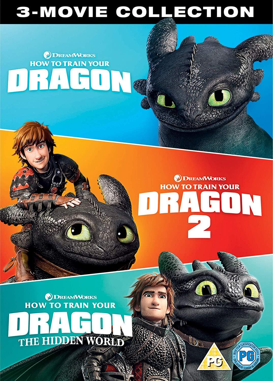 How to Train Your Dragon - 1-2-3 [BLURAY ] Box Set for £14.99 Prime/+£4.49 Non Prime @ Amazon UK