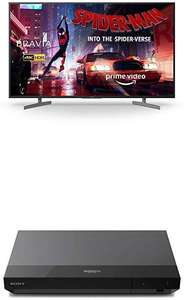 Sony BRAVIA 49 Inch LED 4K HDR Ultra HD Smart Android TV, Voice Remote, with Ultra HD Blu-Ray Disc Player for £619 Delivered @ Amazon UK
