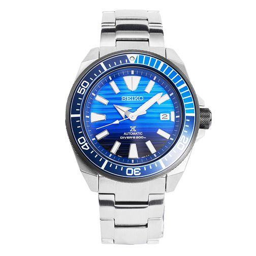 Seiko Prospex SRPC93K1  Save The Ocean Men's Bracelet Watch £309 delivered with code at Ernest Jones