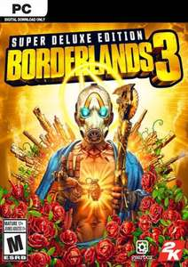Borderlands 3 Super Deluxe Edition PC + DLC (EU) £66.99 CDKeys