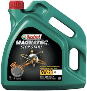 Castrol MAGNATEC 5W-30 A5 STOP-START Engine Oil 4L - £20 at Amazon + £4 promotional gift card code