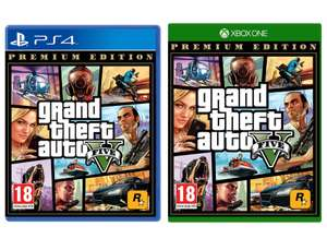 Grand Theft Auto V Premium Edition (PS4 / Xbox One) for £16.99 delivered @ Smyths