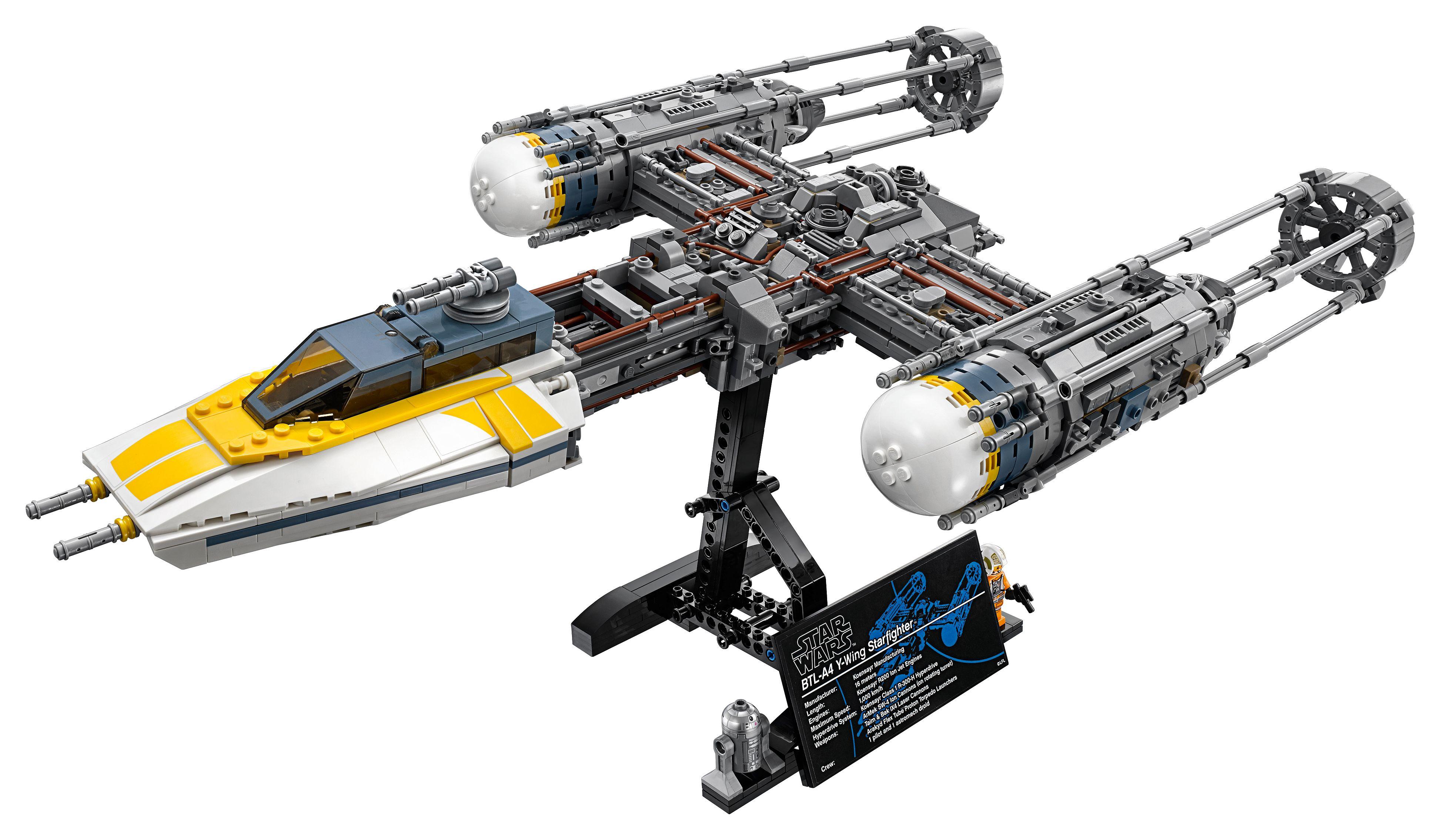 Lego 75181 Y-Wing Starfighter £135.99 Lego Shop