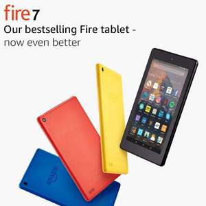 "7"" Certified Refurb Kindle Fire Tablet - £34.99 @ Amazon"