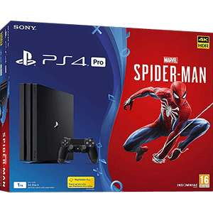 Sony Ps4 Pro And Spider-man Bundle - display model £219.95 @ Richer Sounds in store only Kingston & Leeds
