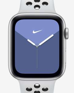 Apple Watch Nike Series 5 with Nike Sport Band 40mm Silver Aluminium Case £327.95 / Series 5 GPS 44mm £352.95 + More @ Nike (see thread)