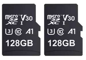 2 X 128GB  MyMemory V30 PRO MicroSD (SDXC) A1 UHS-1 U3 100MB/s R, 90MB/s W+ Adapter (Lifetime Warranty) for £22.99 Delivered @ Mymemory