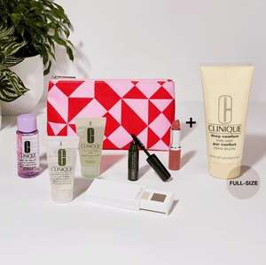 Clinique free gift with two or more purchases (one to be a skincare or foundation) at debenhams