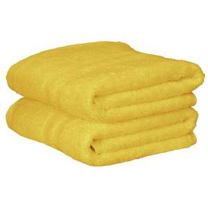 Argos Home Pair of Hand Towels - Sunshine - 10 Colours Available - £3 + Free C&C