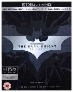 Batman The Dark Knight Trilogy 4K UHD - £32.08 @ Amazon