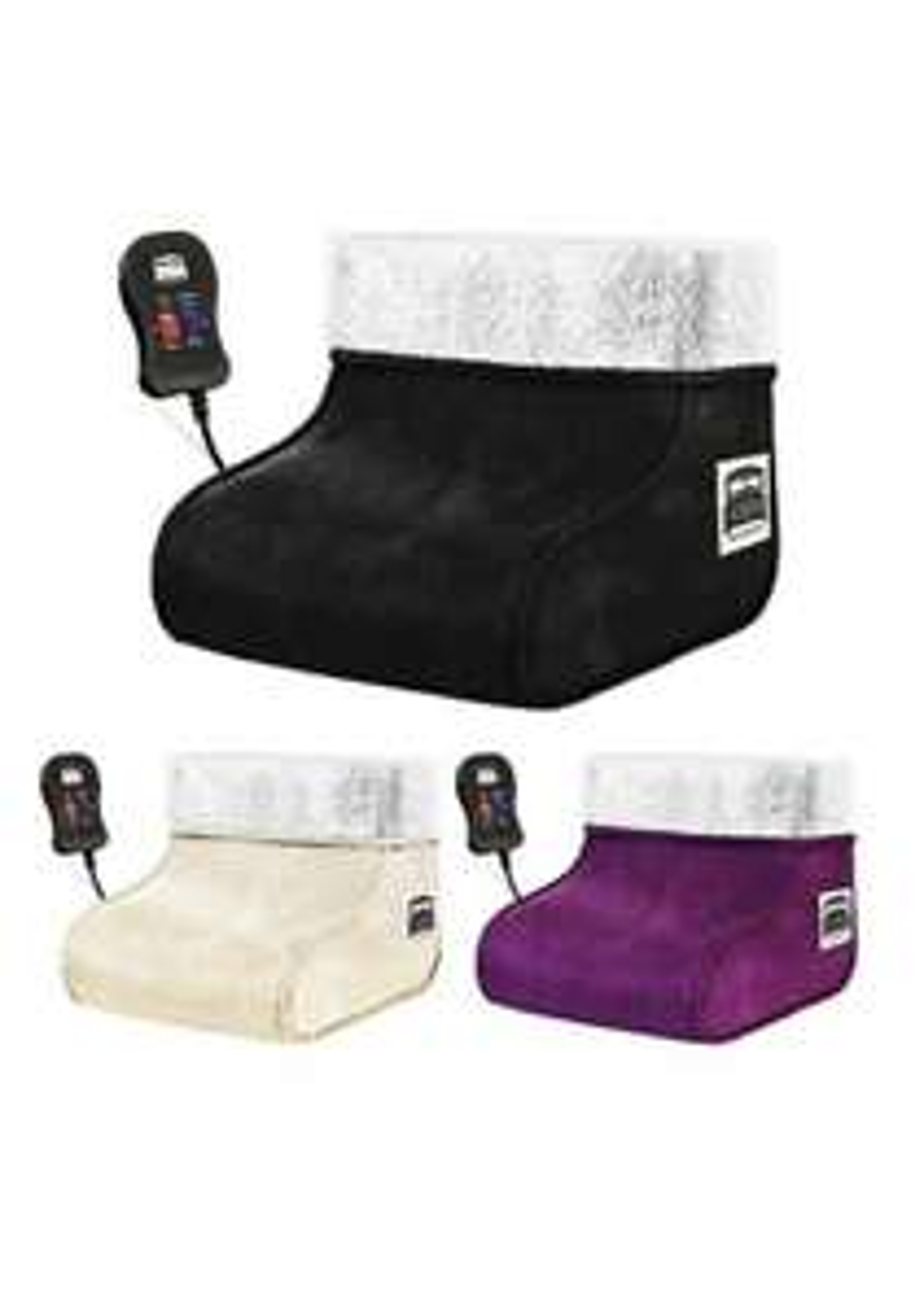 Electric foot warmer - £11.99 @ dickensbedding ebay