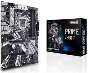 ASUS PRIME Z390-P MOTHERBOARD for £113.99 delivered @ Box