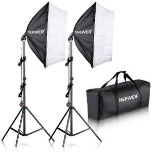 Neewer 60x60cm 700W Photography Softbox Kit - £31.89 + Free Shipping - Sold by Nashes Camspace fulfilled by Amazon