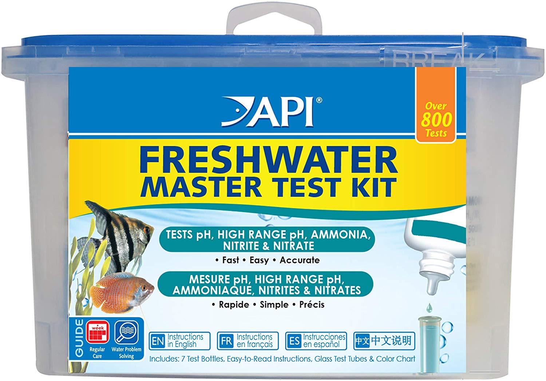 API 800 Freshwater Aquarium  Master test kit £15.41  (Prime) / £19.90 (non Prime) at Amazon