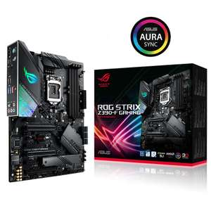 ASUS ROG STRIX Z390-F GAMING MOTHERBOARD with £25 Game voucher (GamesPlanet) for £189.99 @ Box