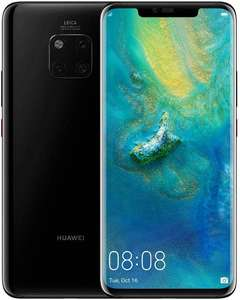 Huawei Mate 20 Pro 128 GB 6.39-Inch 2K FullView Android 9.0 SIM-Free Smartphone Single SIM, UK Version - Black - £464.45 @ Amazon