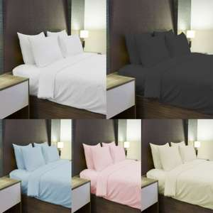 100% Brushed Cotton Thermal Flannelette Fitted Or Flat Bed Sheets. - Choice of 4 Colours - £7.65 Delivered @ eBay - johnaird1