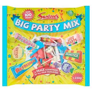 Swizzles Party Bag - 100 Pieces £5 @ Morrisons