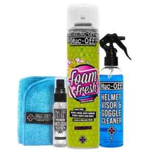 Muc-Off Helmet Care Kit £5 @ Halfords
