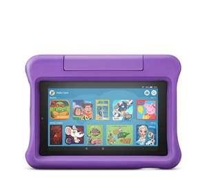 Amazon All New 16GB Fire 7 Kids Edition Tablet with Kid Proof Case £73.95 Delivered @ QVC (If New to QVC use code FIVE4U to get £5 off)