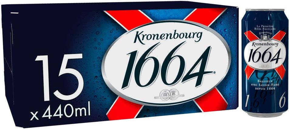 Kronenbourg 15 x 440ml £14 or 2 for £20 @ Tesco